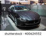 geneva  march 2  maserati... | Shutterstock . vector #400624552