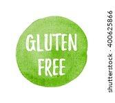 gluten free card  poster  logo  ...   Shutterstock .eps vector #400625866