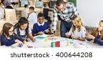 education school teacher... | Shutterstock . vector #400644208