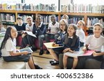 classmate educate friend... | Shutterstock . vector #400652386
