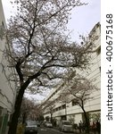 ueno  tokyo  japan   mar. 30 ... | Shutterstock . vector #400675168