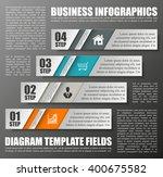 information infographic... | Shutterstock .eps vector #400675582