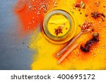exotically spice mix   spice ... | Shutterstock . vector #400695172