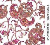 floral seamless pattern. flower ... | Shutterstock .eps vector #400696516