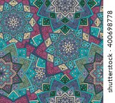 seamless round pattern for... | Shutterstock .eps vector #400698778