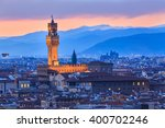 night at florence  italy | Shutterstock . vector #400702246