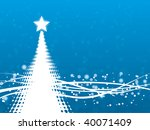 abstract winter background | Shutterstock .eps vector #40071409