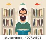 funny cartoon character... | Shutterstock .eps vector #400714576