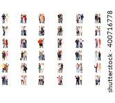 clerks compilation business...   Shutterstock . vector #400716778