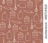 seamless pattern with of... | Shutterstock .eps vector #400719325