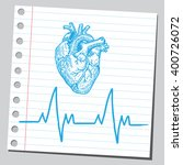 heart beat | Shutterstock .eps vector #400726072
