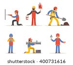 construction worker  architect... | Shutterstock .eps vector #400731616