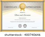 certificate template in vector