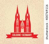 german city cologne travel... | Shutterstock .eps vector #400769116