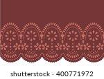 edge laser cut design   Shutterstock .eps vector #400771972