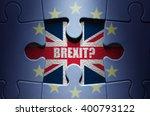 Brexit Puzzle Concept