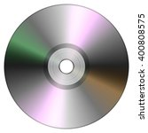single disc cd dvd isolated on... | Shutterstock . vector #400808575