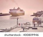 Newhaven Harbour  Sussex  Uk  ...