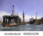 cargo port  malta  29 feb 2016 | Shutterstock . vector #400824298