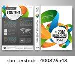 brochure design template vector.... | Shutterstock .eps vector #400826548
