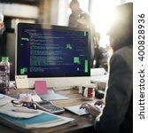php programming html coding... | Shutterstock . vector #400828936