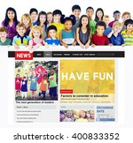 Small photo of Have Fun Happiness Amusement Enjoyment Concept