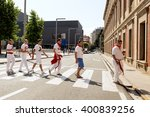spain navarra pamplona 10 july... | Shutterstock . vector #400839256