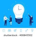 flat design vector concept... | Shutterstock .eps vector #400845502