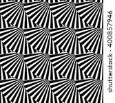 geometric monochrome pattern... | Shutterstock .eps vector #400857946