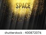 Abstract Background With Gold...
