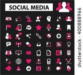 social media icons  | Shutterstock .eps vector #400888966