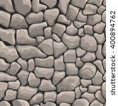 rock stone wall seamless... | Shutterstock .eps vector #400894762