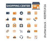 shopping center icons  | Shutterstock .eps vector #400901416