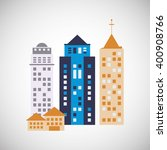 city and building icon design   ...   Shutterstock .eps vector #400908766