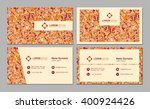 visiting card  business card...   Shutterstock .eps vector #400924426