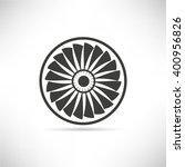 jet engine turbine | Shutterstock .eps vector #400956826