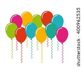 party celebration design  | Shutterstock .eps vector #400962535