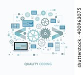 quality coding concept design...