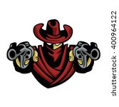outlaw cowboy | Shutterstock .eps vector #400964122
