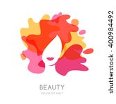 vector logo  emblem design.... | Shutterstock .eps vector #400984492