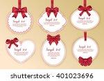 gift card design | Shutterstock .eps vector #401023696