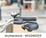 bicycle handlebar | Shutterstock . vector #401040355