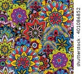 seamless pattern texture.... | Shutterstock .eps vector #401086852