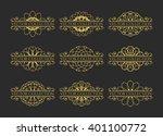 calligraphic design elements....   Shutterstock .eps vector #401100772