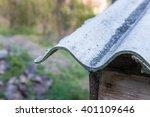 roof particular asbestos outdoor | Shutterstock . vector #401109646