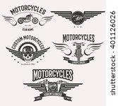 vintage vector custom... | Shutterstock .eps vector #401126026