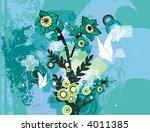 modern grunge background series ... | Shutterstock .eps vector #4011385