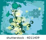 modern grunge background series ... | Shutterstock .eps vector #4011409