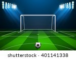 vector illustration of soccer... | Shutterstock .eps vector #401141338