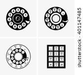 phone dial | Shutterstock .eps vector #401147485